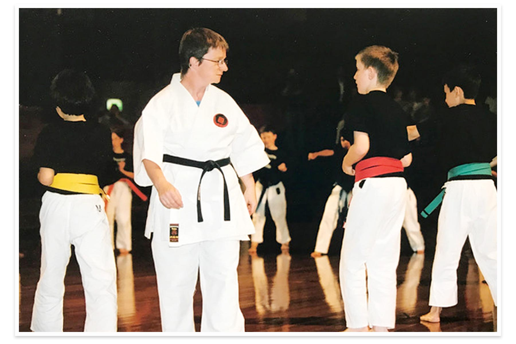 Caroline Manly, Sensei and founder of Shudokan Karate